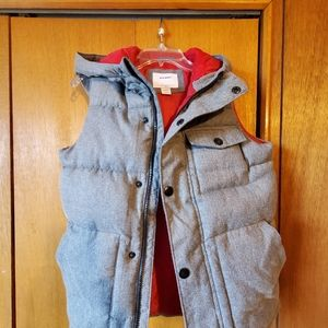 Old navy hooded puffy vest
